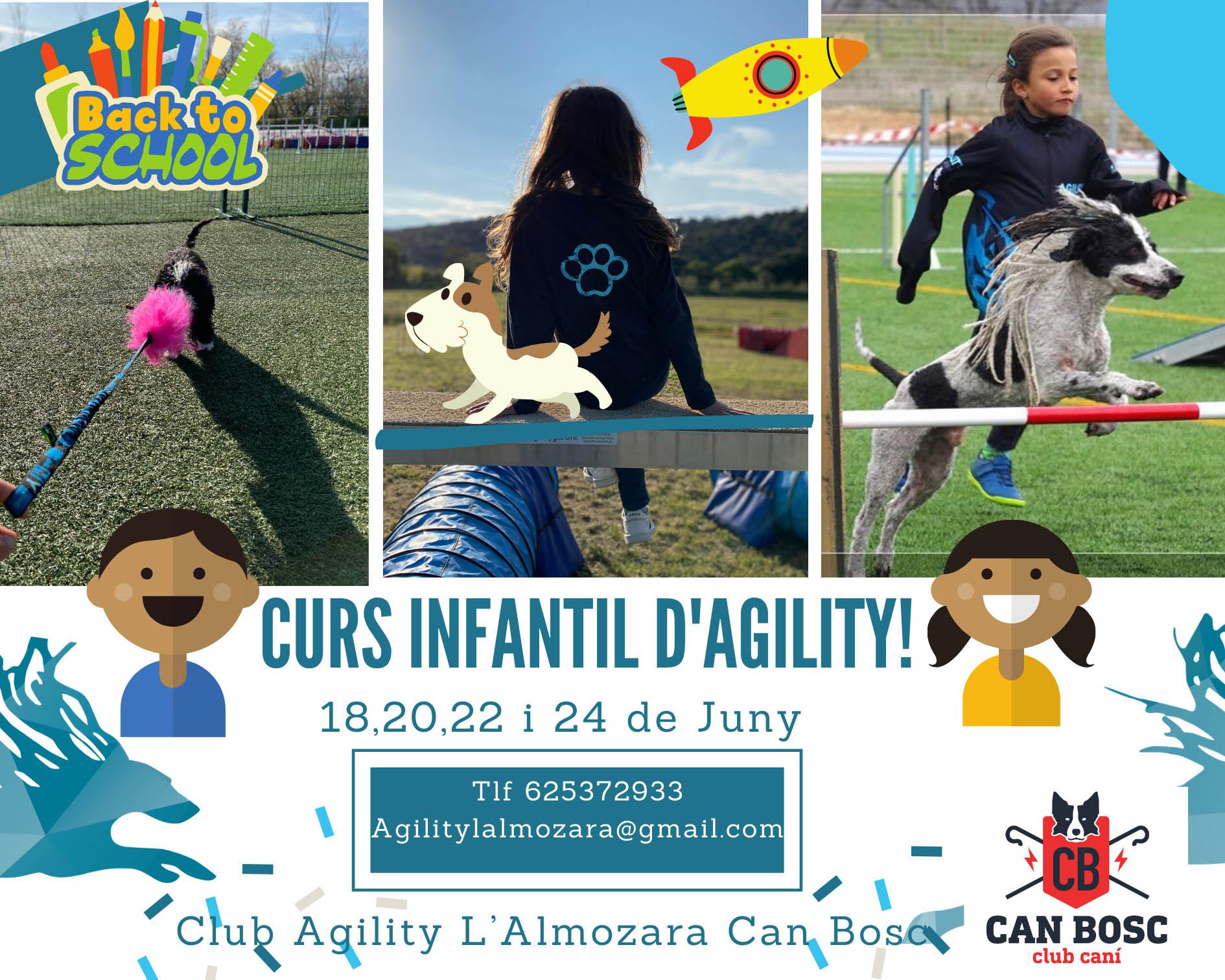 Curso Infantil Agility L'Almozara Can Bosc / 4 días